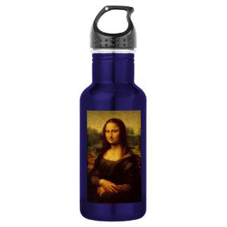 Leonardo Da Vinci Mona Lisa Fine Art Painting Water Bottle