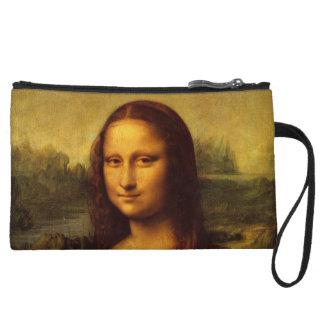 Leonardo Da Vinci Mona Lisa Fine Art Painting Wristlet