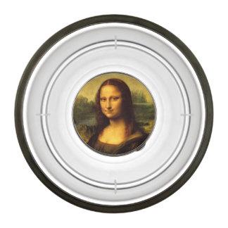 Leonardo Da Vinci Mona Lisa Fine Art Painting Pet Bowl