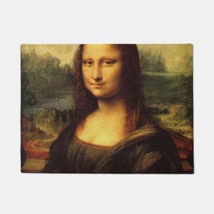 LEONARDO DA VINCI - Mona Lisa, La Gioconda 1503 Doormat