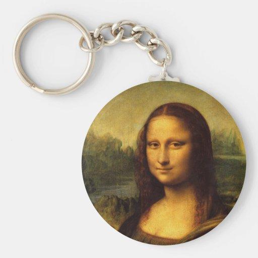 Leonardo da Vinci Mona Lisa Llavero Personalizado