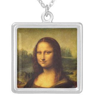 Leonardo Da Vinci - Mona Lisa Square Pendant Necklace