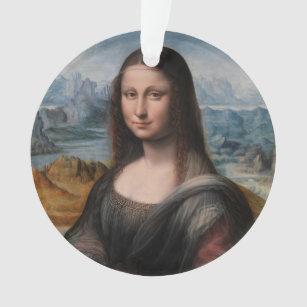 Leonardo Da Vinci Mona Christmas Ornaments Zazzle 100 Satisfaction Guaranteed