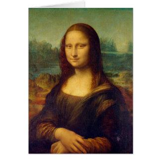 Leonardo da Vinci, Mona Lisa Painting Card