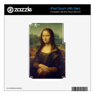 Leonardo da Vinci - Mona Lisa Painting Decals For iPod Touch 4G