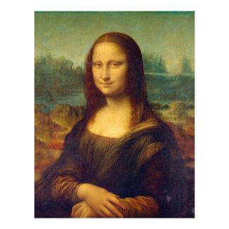Leonardo da Vinci, Mona Lisa Painting Flyer