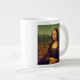 Leonardo da Vinci, Mona Lisa Painting Large Coffee Mug