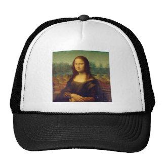 Leonardo da Vinci, Mona Lisa Painting Trucker Hat