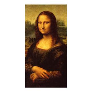 Leonardo Da Vinci Mona Lisa Photo Greeting Card