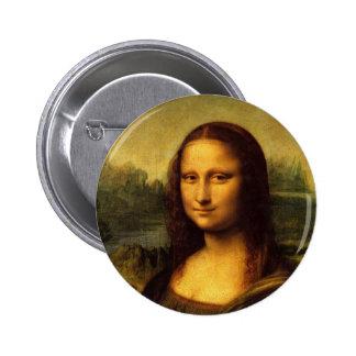 Leonardo da Vinci Mona Lisa Pin Redondo 5 Cm