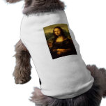Leonardo da Vinci - Mona Lisa Playera Sin Mangas Para Perro