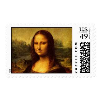 Leonardo da Vinci Mona Lisa Stamp