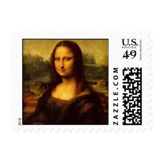 Leonardo da Vinci Mona Lisa Postage