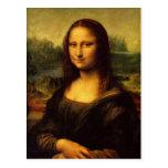 Leonardo da Vinci Mona Lisa Postal
