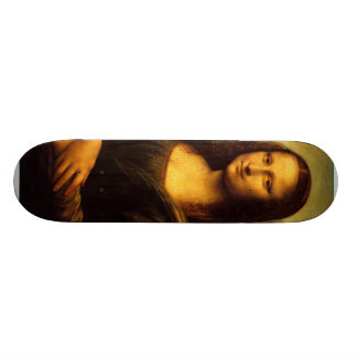 Leonardo Da Vinci - Mona Lisa Skateboard