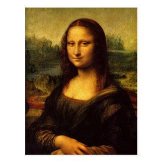 Leonardo da Vinci Mona Lisa Tarjetas Postales