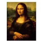 Leonardo da Vinci - Mona Lisa Tarjetas Postales