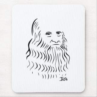 Leonardo da Vinci Mousepad Alfombrillas De Raton