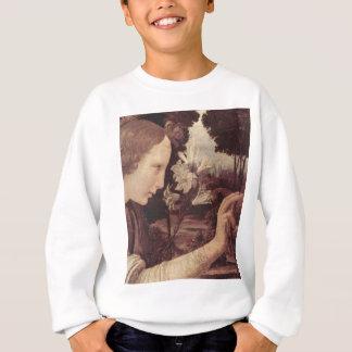 Leonardo Da Vinci Painting circa 1472-1475 Sweatshirt