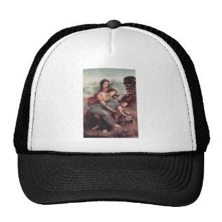 Leonardo Da Vinci Painting circa 1510 Trucker Hat