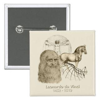 Leonardo da Vinci Pins