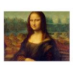 Leonardo da Vinci, pintura de Mona Lisa Tarjeta Postal