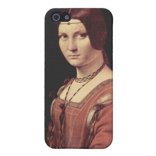 Leonardo da Vinci - pinturas del ferronnière de la iPhone 5 Cobertura