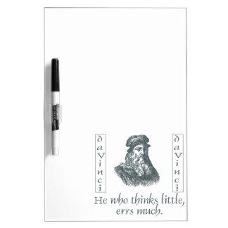 Leonardo da Vinci Pizarras Blancas De Calidad