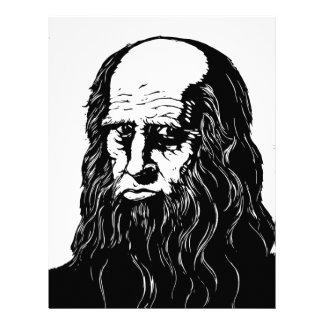 Leonardo da Vinci - portrait Letterhead