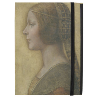 Leonardo da Vinci Portrait of a Young Fiancee iPad Pro Case