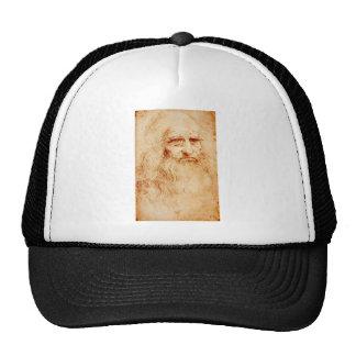 Leonardo da Vinci, purported self-portrait. Trucker Hat