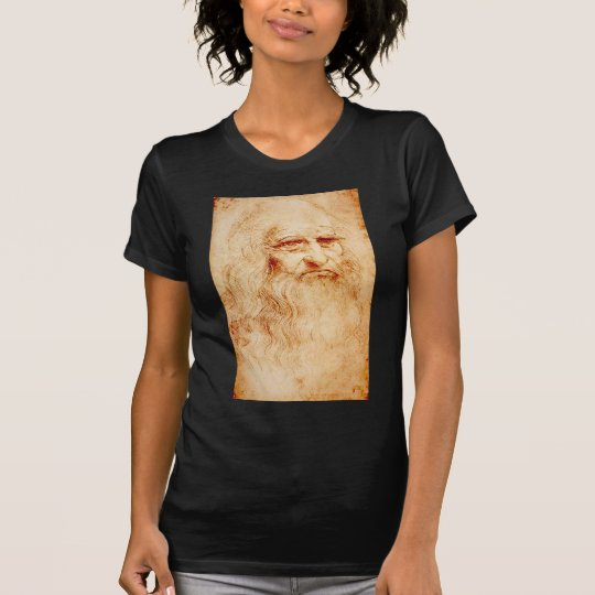 Leonardo da Vinci, purported self-portrait. T-Shirt
