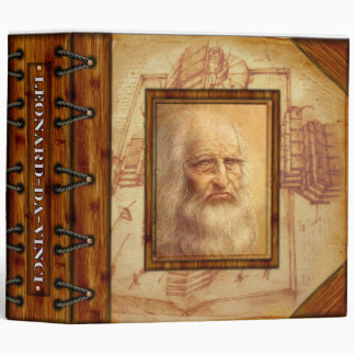 Leonardo -da -Vinci Research Binder