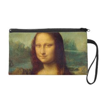 Leonardo da Vinci's Mona Lisa Wristlet Clutches