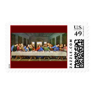 Leonardo Da Vinci s The Last Supper Postage Stamp
