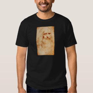 Leonardo Da Vinci Self-Portrait circa 1510-1515 Shirt