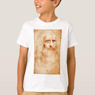 Leonardo Da Vinci Self-Portrait circa 1510-1515 T-Shirt