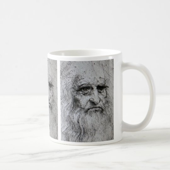 Leonardo Da Vinci self portrait Coffee Mug