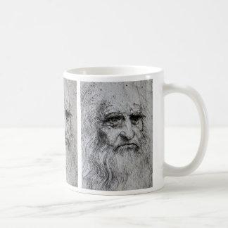 Leonardo Da Vinci self portrait Classic White Coffee Mug
