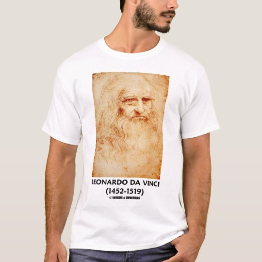 Leonardo da Vinci Self-Portrait T-Shirt