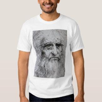 Leonardo Da Vinci self portrait T Shirt