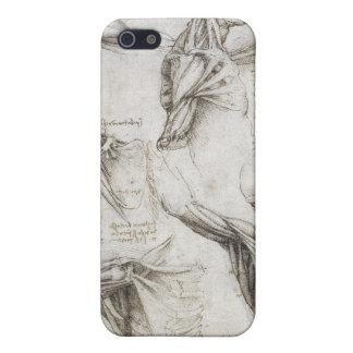 Leonardo Da Vinci - Study of Anatomy Paintings Case For iPhone SE/5/5s