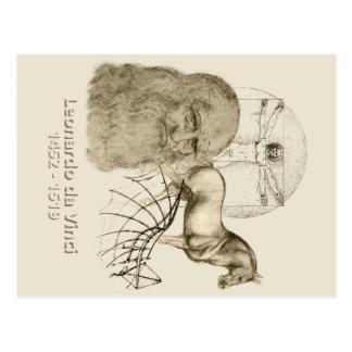 Leonardo da Vinci Postales