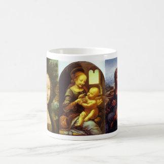 Leonardo da Vinci Taza Clásica