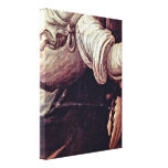 Leonardo da Vinci - The angels robe Stretched Canvas Prints