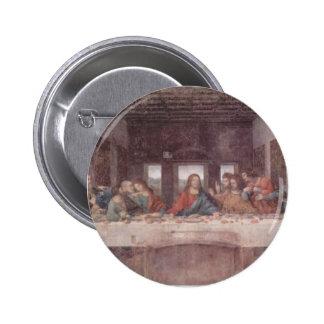 Leonardo da Vinci- The Last Supper Pinback Button