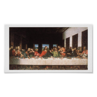 Leonardo Da Vinci-The Last Supper Print