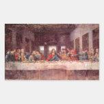 Leonardo da Vinci - The Last Supper Rectangle Stickers