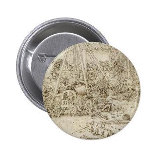 Leonardo DA Vinci- un parque de la artillería Pins