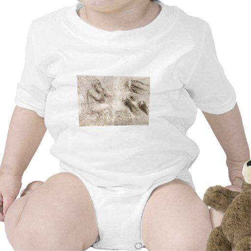 Leonardo da Vinci, uno mismo-retrato posible Trajes De Bebé